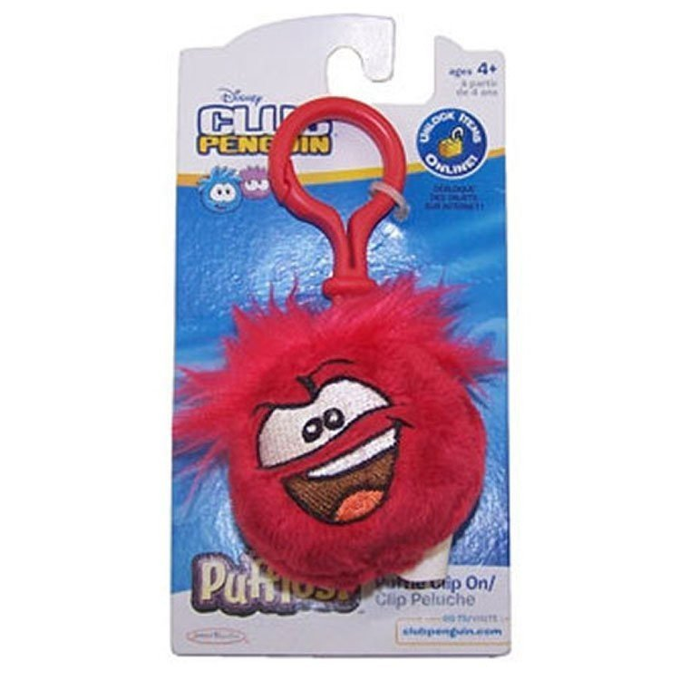 Club Penguin - Red Puffle Clip On