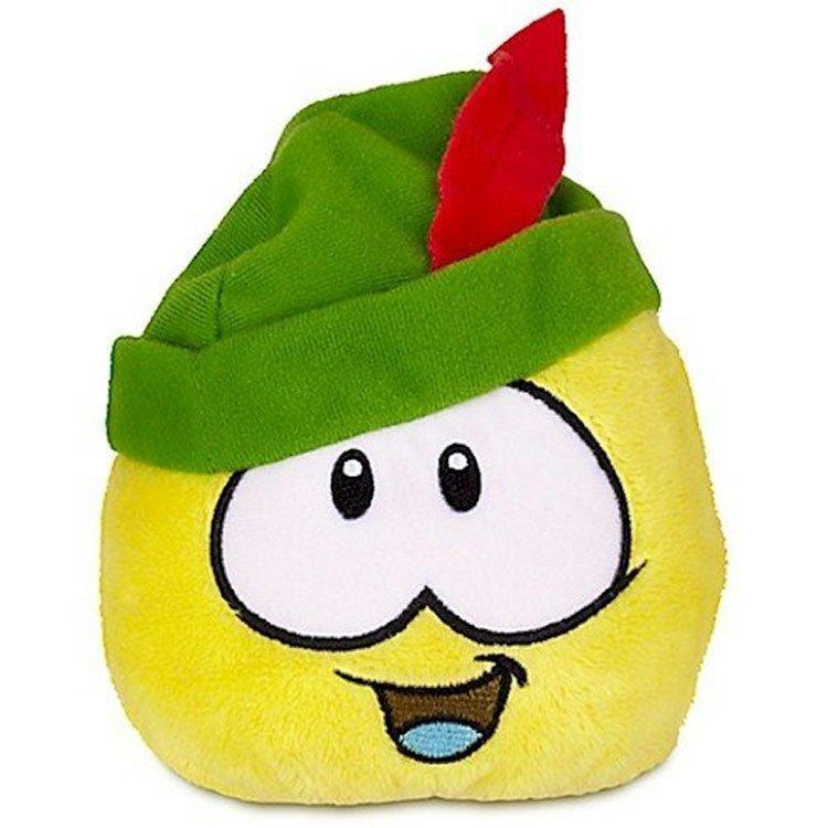 Club Penguin - Serie 12 - Peluche Puffle amarillo