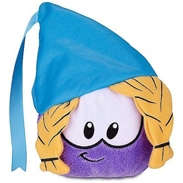 Club Penguin - Series 12 - Purple Puffle Plush