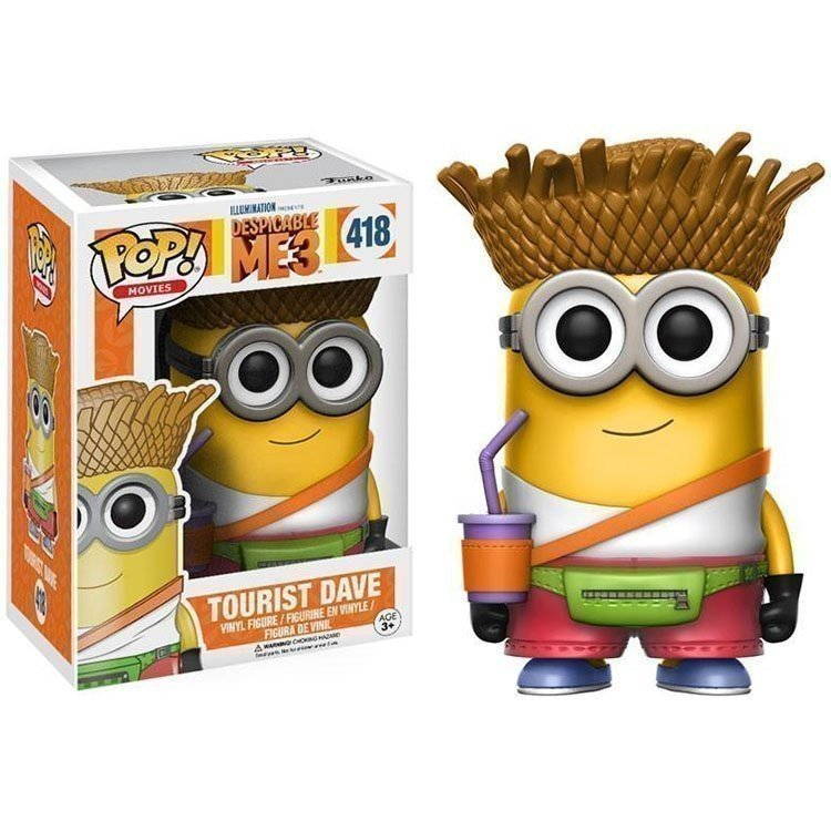 Funko Pop 13426 - Despicable Me 3 - Gru: Mi villano favorito - Tourist Dave