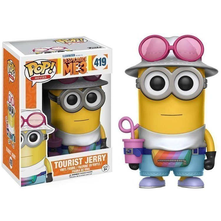 Funko Pop 13427 - Despicable Me 3 - Gru: Mi villano favorito - Tourist Jerry