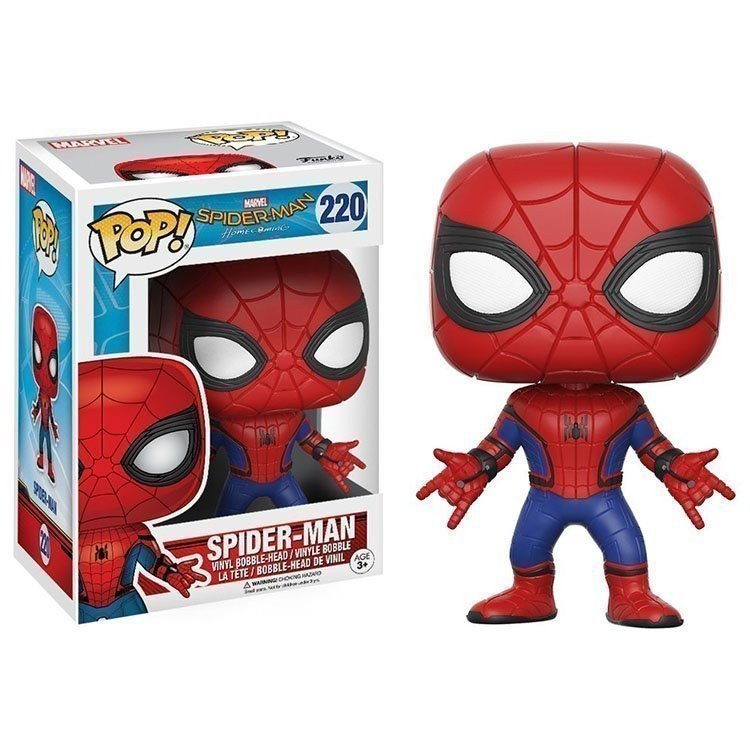 Funko Pop 13317 - Marvel - Spider-Man - Cabeza oscilante