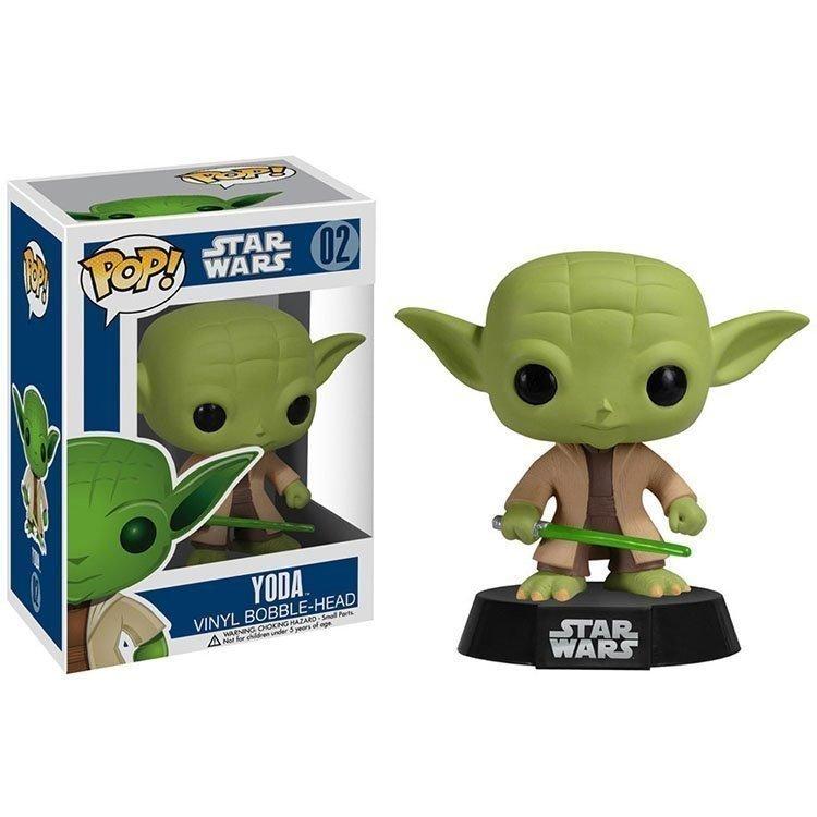 Funko Pop 2322 - Star Wars - Yoda - Cabeza oscilante