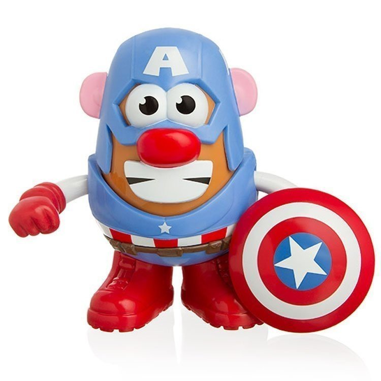 Mr. Potato Head - Marvel - Figura de Capitán América