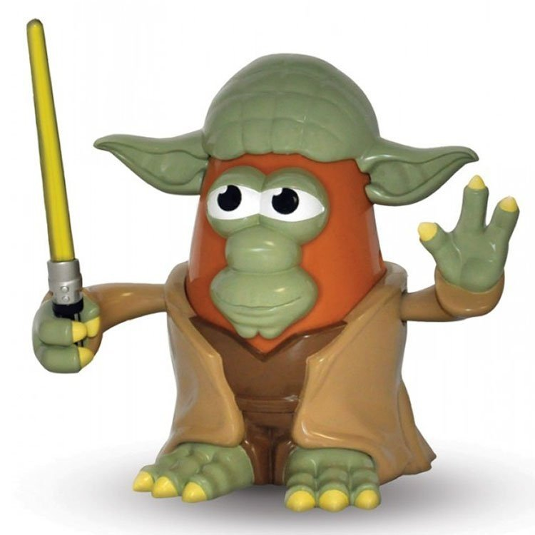 Mr. Potato Head - Star Wars - Figura de Yoda