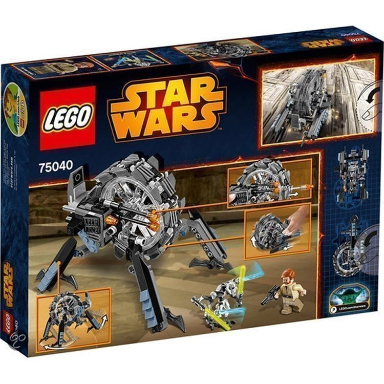 Lego - General Grievous' Wheel Bike