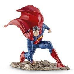 Schleich - La Liga de la Justicia - Superman arrodillado
