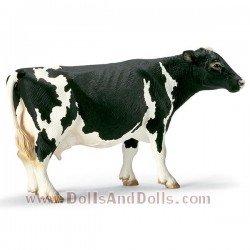 Schleich - Animales de granja - Vaca frisona de manchas negras
