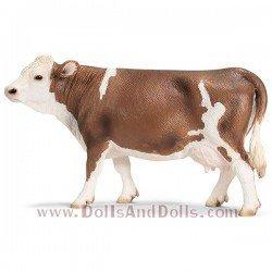 Schleich - Animales de granja - Vaca de raza Fleckvieh