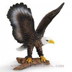 Schleich - América - Águila calva americana