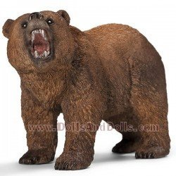 Schleich - América - Oso grizzly