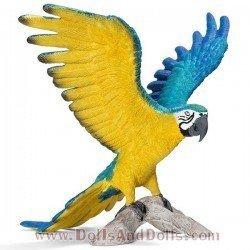 Schleich - América - Guacamayo azul y amarillo