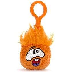 Club Penguin - Clip Peluche Puffle naranja