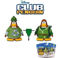 Club Penguin - Serie 11 - Figuras Obreros