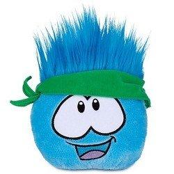 Club Penguin - Serie 12 - Peluche Puffle azul