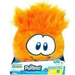 Club Penguin - Serie 5 - Peluche Puffle Jumbo naranja