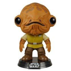 Funko Pop 6585 - Star Wars - Admiral Ackbar - Cabeza oscilante