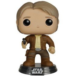 Funko Pop 6584 - Star Wars - The Force Awakens - Han Solo - Cabeza oscilante