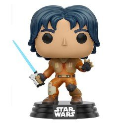 Funko Pop 10772 - Star Wars Rebels - Ezra - Cabeza Oscilante