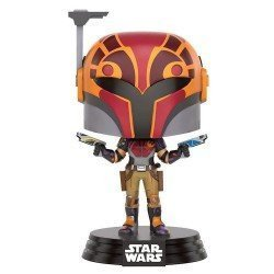 Funko Pop 10767 - Star Wars Rebels - Sabine in helmet (masked) - Cabeza Oscilante