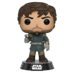 Funko Pop 10452 - Star Wars Rogue One - Captain Cassian Andor - Cabeza Oscilante