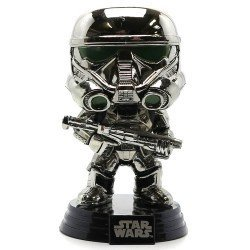Funko Pop 10465 - Star Wars Rogue One - Chromed Imperial Death Trooper - Cabeza Oscilante