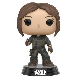 Funko Pop 10449 - Star Wars Rogue One - Jyn Erso - Cabeza Oscilante