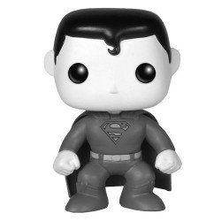 Funko Pop 7612 - Héroes - Superman Blanco y Negro