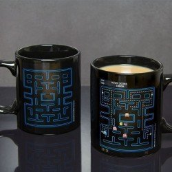 Taza Pac-Man sensible al calor