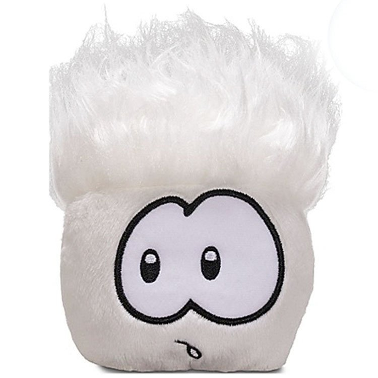 Club Penguin - Series 5 - White Puffle Jumbo Plush