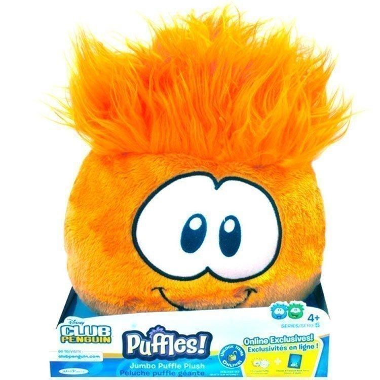 Club Penguin - Series 5 - Orange Puffle Jumbo Plush
