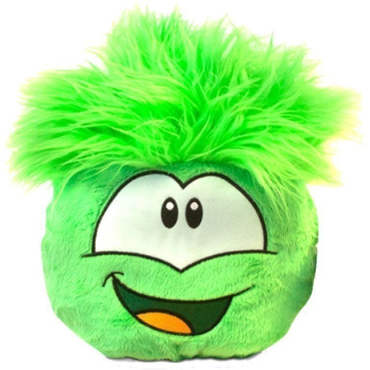 Club Penguin - Series 5 - Green Puffle Jumbo Plush