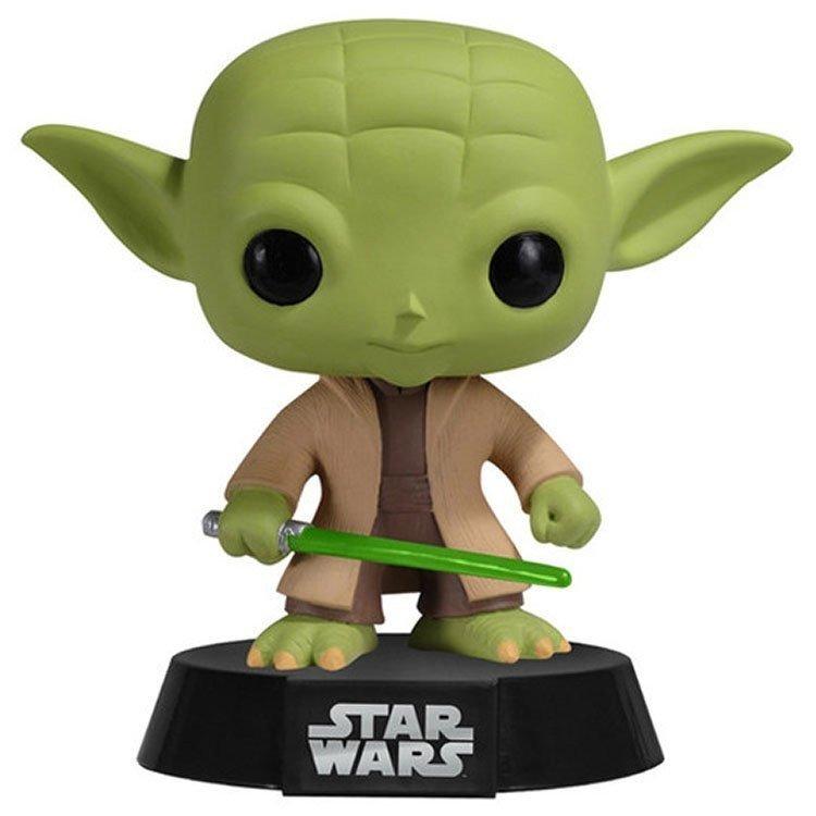 Funko Pop 2322 - Star Wars - Yoda - Bobble-Head
