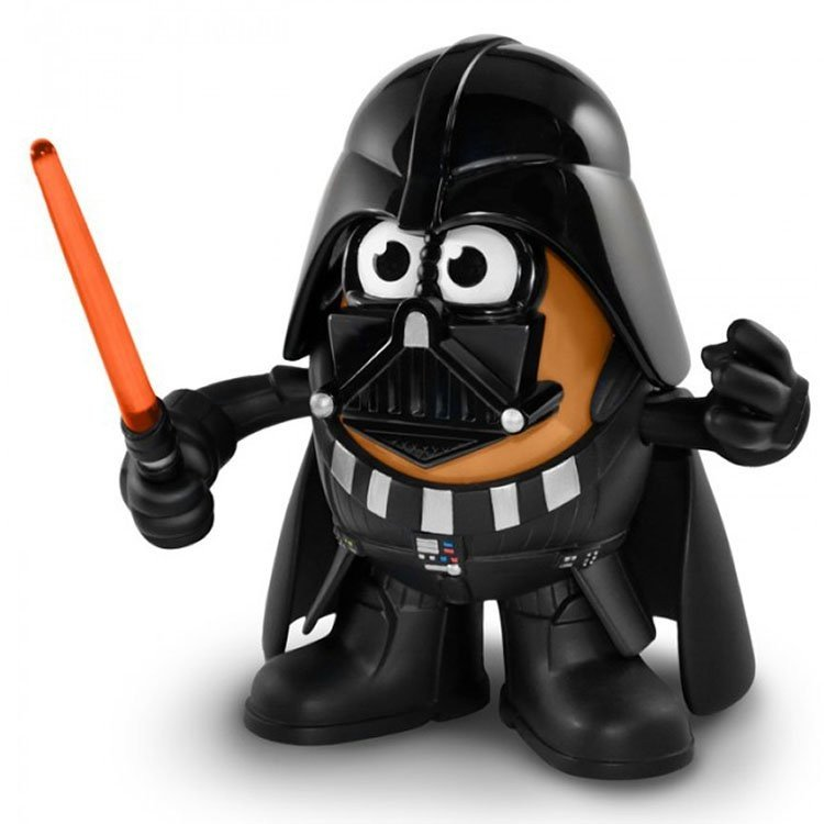 Mr. Potato Head - Star Wars - Darth Vader figure
