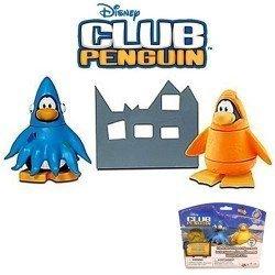 Club Penguin - Serie 11 - Figuras Calamar y Pez