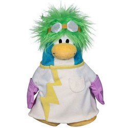 Club Penguin - Serie 15 - Peluche Científico Rad