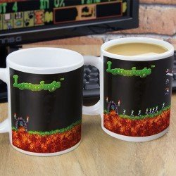 Taza Lemmings sensible al calor